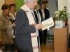 Pfarrer Nolte spricht das Segensgebet