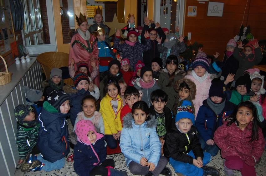 Sternsinger Kindergarten1