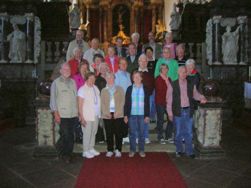 Jahreswanderfahrt 2014, Gruppenbild in Kloster Grauhof