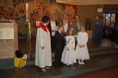 Erstkommunion in St. Raphael (2014)