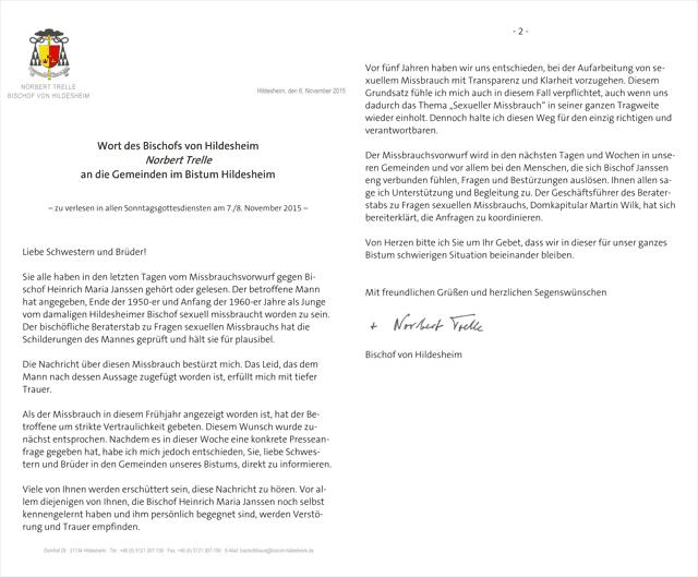 Janssen-Brief