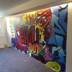 Graffiti-Fototapete